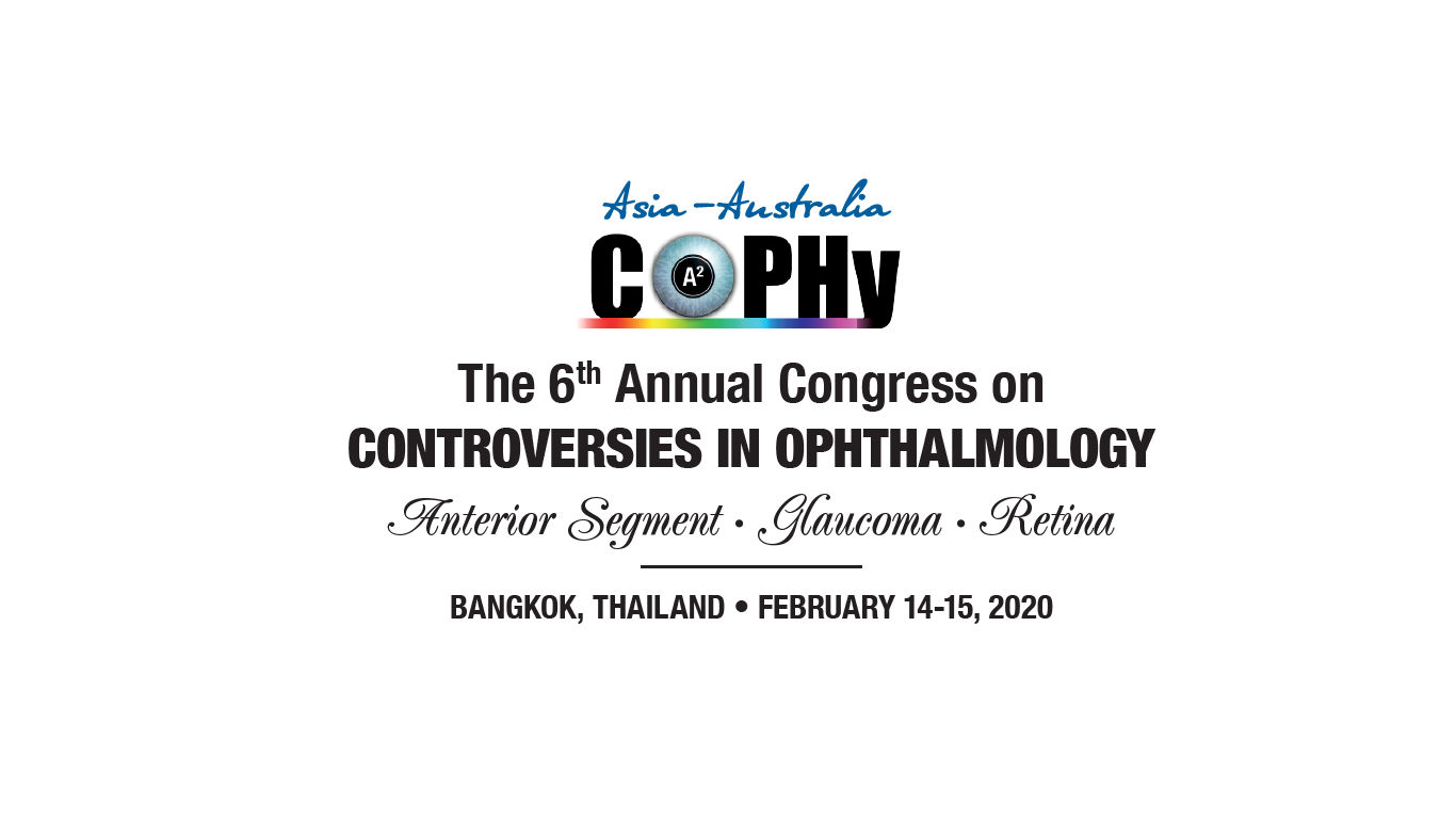 6th Annual Congress on Controversies in Ophthalmology Asia-Australia (COPHy AA)